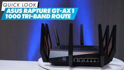 Asus Rapture GT-AX1 1000 Tri-band Router -  快速查看